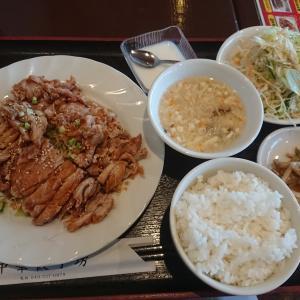 油淋鶏ランチ(中華餃子房/埼玉県坂戸市)