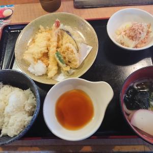 天ぷら定食(久兵衛屋毛呂山店/埼玉県毛呂山町)