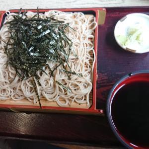 ざるそば(うどん・そば喜野屋/埼玉県坂戸市)