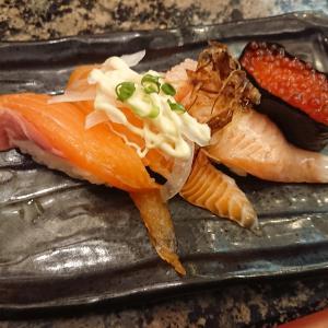 がってん寿司でお寿司を食べる!(がってん寿司毛呂山店/埼玉県毛呂山町)
