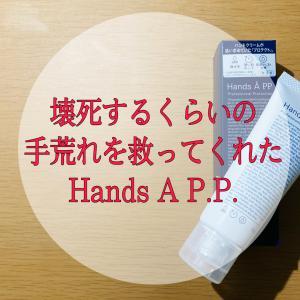 壊死するくらいの手荒れを救ってくれたHands A P.P.。一番手荒れに効くオススメのハンドクリームを紹介してみた!