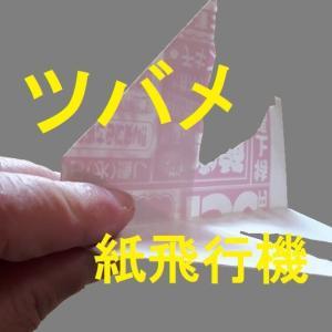 ツバメ紙飛行機の作り方