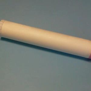 キッチンペーパーの芯で作る空気砲