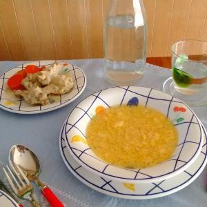 骨付きチキンスープの簡単アレンジ【レシピ】