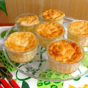 甘酸っぱくてシャキシャキのりんごのパイ包み焼き【作り方】冷凍パイシートを使って簡単に!
