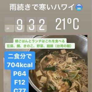 【ダイエット12日目】朝鍋は腹持ち良くない…!【1542kcal】