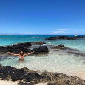 【マカラウェナビーチ】穴場ビーチ!(35分灼熱ハイキング必須)【ハワイ島】
