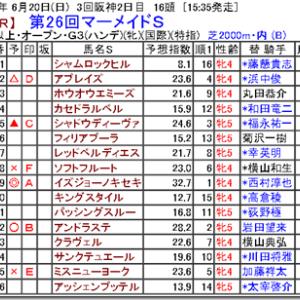 【競馬予想】第26回マーメイドS
