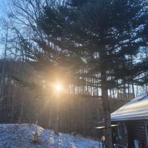 なぜか快晴の八ヶ岳で迎えた「大晦日」—「ブログ村の呪い」も解けた