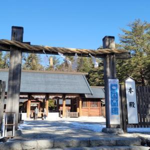 「諏訪湖全面氷結」と「1万円札」に思う—身曾岐神社に初詣