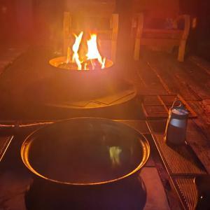 焚き火と珈琲と弓道の話—「ツルネ」は「弦音」で面白かった!