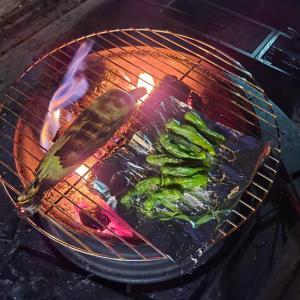 蘇る「昭和のお祭り屋台の味」—焚き火と焼きトウモロコシの日