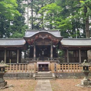 「御柱」に導かれて—そうだ「乙事諏訪神社」に行こう!