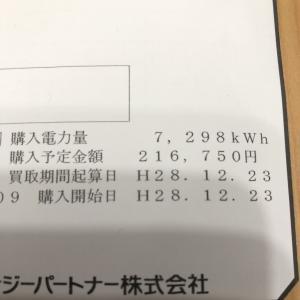 太陽光収入(7月分)