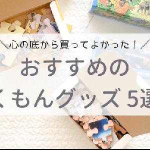 買ってよかった!くもんおすすめ知育グッズ5選【口コミ】