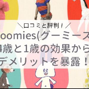 【おうち英語DVD】グーミーズ(Goomies)って知ってる?4歳と1歳の反応や効果は?