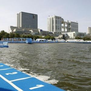 【悲報】五輪会場の東京湾の画像がこちらです・・・・