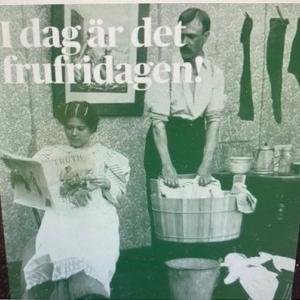 今日は「妻の自由な日」(Frufridagen)???