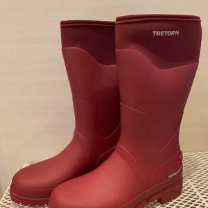 おニューの雨靴