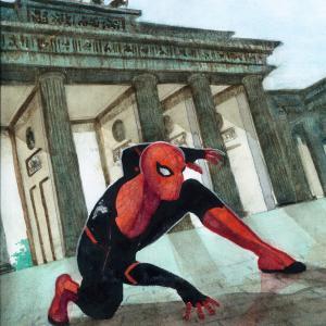 スパイダーマン   ドイツ風味 ダジャレを添えて