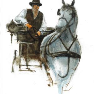 馬をウマく描く  ズブクビッチ模写