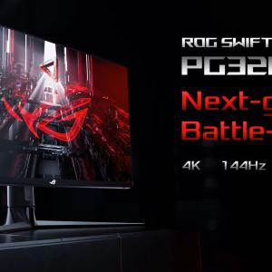 【4K120fps・HDMI2.1対応】ASUS ROG Swift PG32UQ が正式発表!