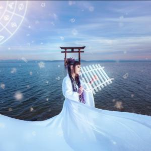 護符・靈符・神折符講師@mika昨日は水瓶座の満月あなたの願いは何ですか?