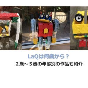 LaQ(ラキュー)は何歳から遊べる?2~5歳児の作品とともに解説!
