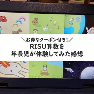 RISU算数は年長幼児でも先取り可能?体験した感想【クーポン付】