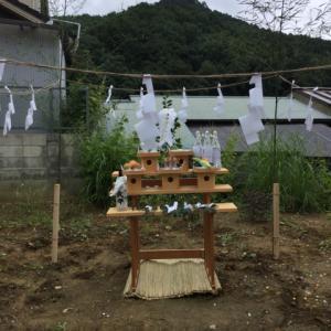 長瀞の家2019 地鎮祭