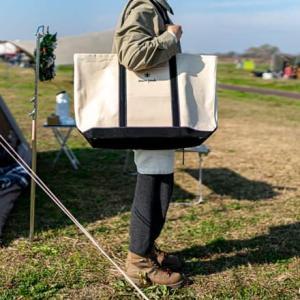 スノーピークキャンバストートバッグの収納力と次回発売日情報まとめ
