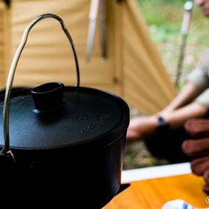 【購入レビュー】ソロキャンプでダッチオーブン料理を!スノーピーク「コンボダッチデュオ」