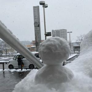 福岡も雪です その3