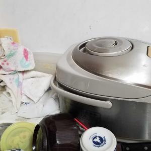 キッチン 作業台 次女のお正月休み