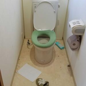 2階トイレ blogサボり