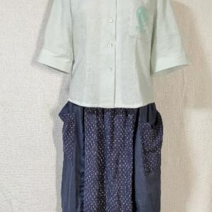 新しいシャツの製作【ハンドメイド】川道商店
