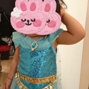 2歳女の子ディズニープリンセスドレス ジャスミン&シンデレラ