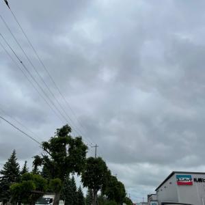曇り空でナイス