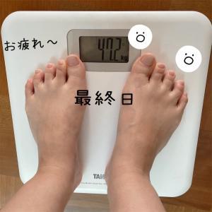 アラフィフ一週間ダイエット!最終日の体重は?オルビスプチシェイク 置き換えダイエット体重47Kg台キープ