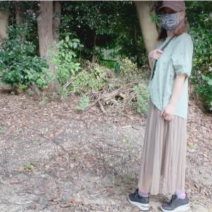 アラフィフ独身女!今日の散歩コーデ☀️油断してまた太る