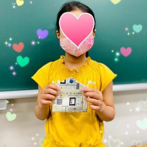 NちゃんとLちゃんの可愛いマスクケース(5月19日完成)