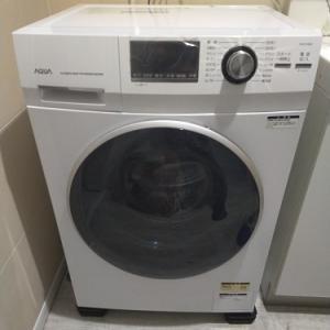 洗濯機を購入しました!