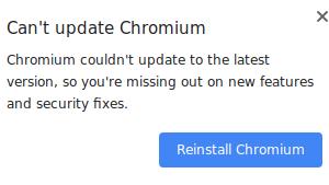 Raspberry Pi の Chromium で更新失敗のポップアップが出ないように自動起動する