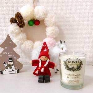 クリスマスにもぴったり!KLINTAのキャンドルが届きました♪