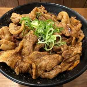 (ランチ)総重量800gの「メガしびれ豚丼」は超絶しびウマ!!!【神田・串揚げじゅらく】