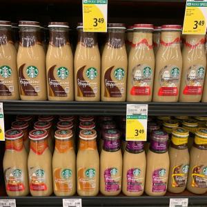 ハワイで瓶のスターバックスコーヒー
