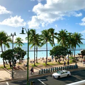ハワイで散歩は気持ちいい