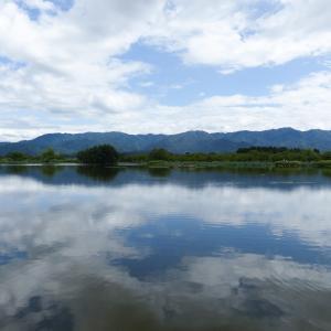 初秋の湖を撮って来ました