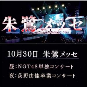 NGT48 単独&卒コンを前に思うこと