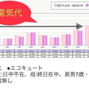5人家庭の電気料金実費を公開~!